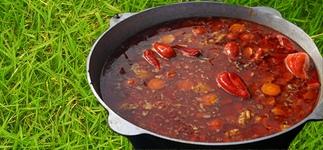 Бограч – рецепт вкусного супа на костре