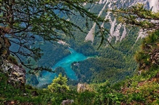 Зелёное озеро (Gruner See) - озеро-парк в Австрии