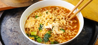 Рамен по рецепту корейской кухни