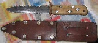 Сделать нож в походных условиях