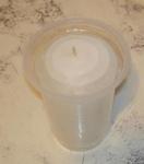 Изготавливаем свечу своими руками